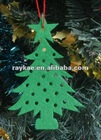 Laser cut felt decoration for christmas tree