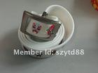 2013 fashion eco-friendly unisex silicone belt