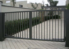 swing barrier gate