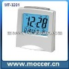 LCD alarm clock with Snooze and temperature