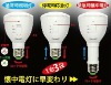 Portable led rechargeable emergency light for European Marketings
