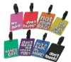 Good quality and design color 3d luggage ID tag