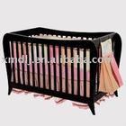 DLJ-L0177 soild wood baby bed