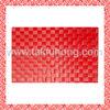 Plastic weaven PP placemat