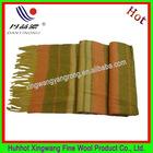 100% wool yarn dye scarf