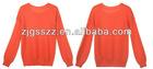 2012 women's long sleeve batwing sweater