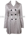 Sateen Trench Coat