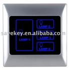 Hotel Intelligent network Lighting Control Touch Panel /infrared remote control switch/ home automation/ smart home