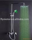 LED product/led shower faucet set /LED over shower and hand shower/bathroom shower set