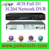 4CH CCTV and DVR Recorder H.264