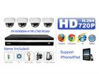NVR system for megapixel ip camera cctv system