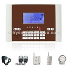 Wireless GSM Home Alarm System Auto Dial with Intercom