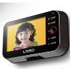 Voice actived photo and video recording 720P door viewer