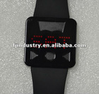 2012 Newest Latest model fashion Led touch screen sports digital unisex watch
