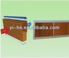 Cooling pad for greenhouse, poultry house