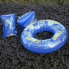 Factory pvc inflatable swim ring