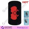 Silicone anti slip sticker non slip pad mobile grid