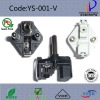 YYSR YS-001-V VDE Approved French Plug(VDE mark YS-RA)