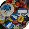2011 newest tin button badge