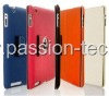 Jean leather case for iPad2, iPad3