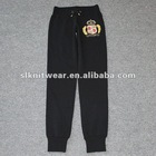 2012 fashion ladies terry long lady pants