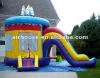 Commercial PVC tarpaulin inflatable combo slide