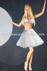 2011 Customized made C12 elegant zhenzhen short sexy petticoat