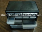 industry plastic box for tools with 12 drawers