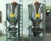 vertical spiral agitator for plastic flakes pellets mixing