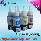 Top quality bulk ink/refill ink for Epson printers 70ml/100ml/250ml/500ml