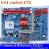 soket 478 motherboard G41 support DDR3 memory