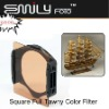 Square Color Filter Full Tawny For Cokin P series