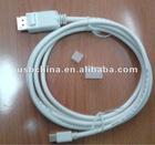 Mini DP M to DP M Short Cable 1.8M