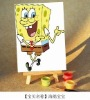HOT DIY PAINT BY NUMBER SPONGEBOB