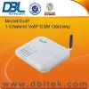 DBL one VoIPSIM card Channel GSM gateway GOIP-1