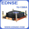 EDNSE CPU Cooler 1U-1366A