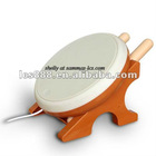 Foldable taiko drum for wii accessories