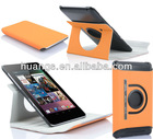 Hot 360 Degree Rotating Leather Case Cover for Google Nexus 7