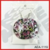 2012 beautiful flower shell earrings