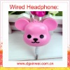 Newly & Fashion Colorful Cute headphones