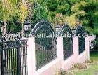Wrougt iron rule fence
