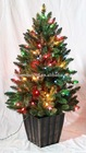 PVC Chirstmas Decoration Tree with LED light