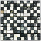 Stone mosaic tiles with dark color (GD04)