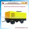 Capacity 12 Diesel Driven Portable Screw Air Compressor