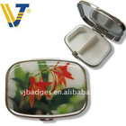 Beautiful metal pill box