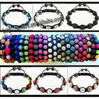 Shamballa Crystal Disco Ball Bracelet