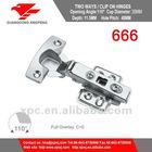666 Jieyang Industrial Funiture Fitting Concealed Cabinet Hinge