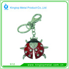 Kingtop Keyring Metal Zinc Alloy with Natural Shape