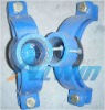 ductile iron saddle clamp for pvc/steel pipes