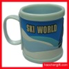 Promotion soft rubber pvc mug cup